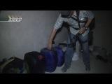 Сирия. Опасная находка сирийской армии в Джобаре